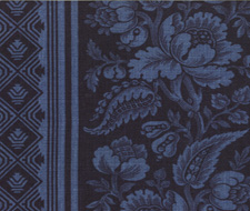 4008-05 Lovely Louise Indigo – Victoria Hagan Fabric