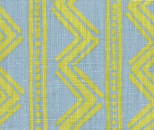 4004-03 Twilight Rhythm Sky/Citrus – Victoria Hagan Fabric
